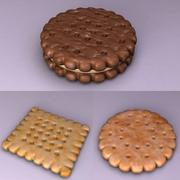 Des biscuits 3d model