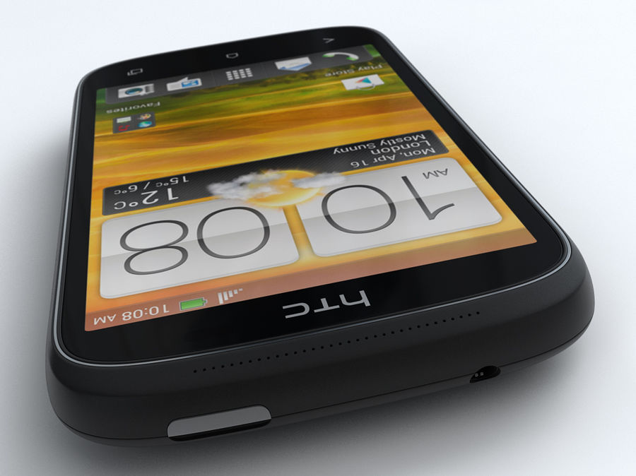 HTC Desire C royalty-free 3d model - Preview no. 12