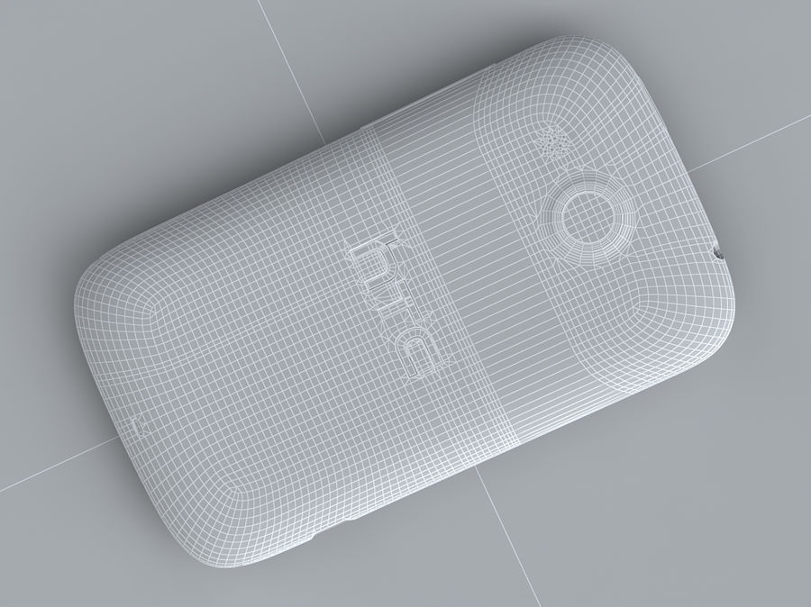 HTC Desire C royalty-free 3d model - Preview no. 33
