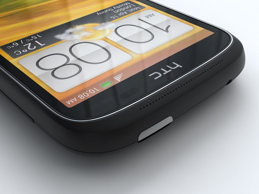 HTC Desire C royalty-free 3d model - Preview no. 26