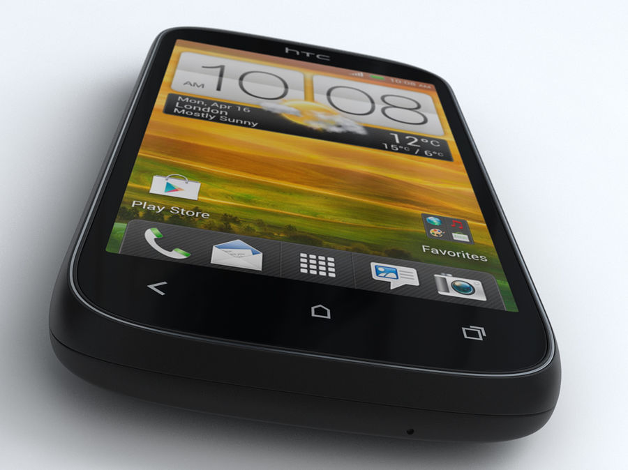 HTC Desire C royalty-free 3d model - Preview no. 11