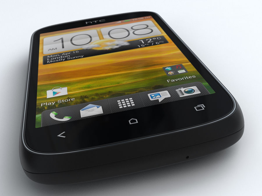 HTC Desire C royalty-free 3d model - Preview no. 10