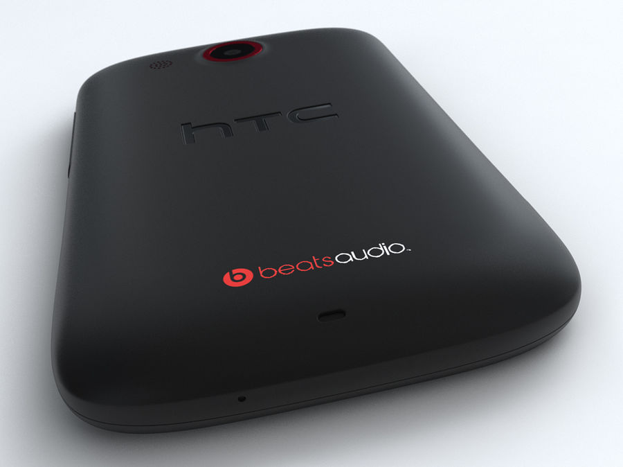 HTC Desire C royalty-free 3d model - Preview no. 23