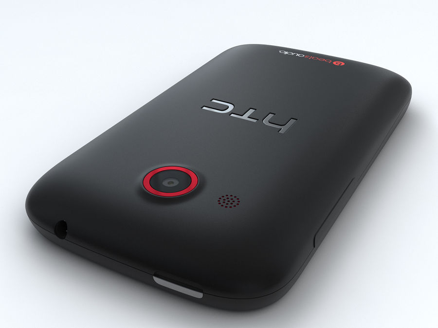 HTC Desire C royalty-free 3d model - Preview no. 17
