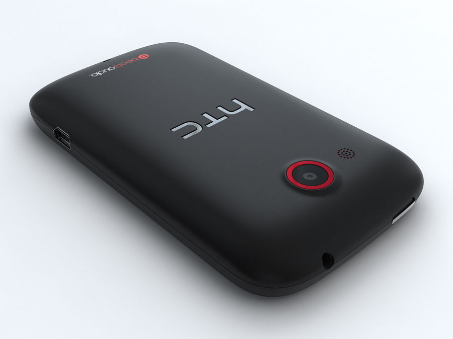 HTC Desire C royalty-free 3d model - Preview no. 15