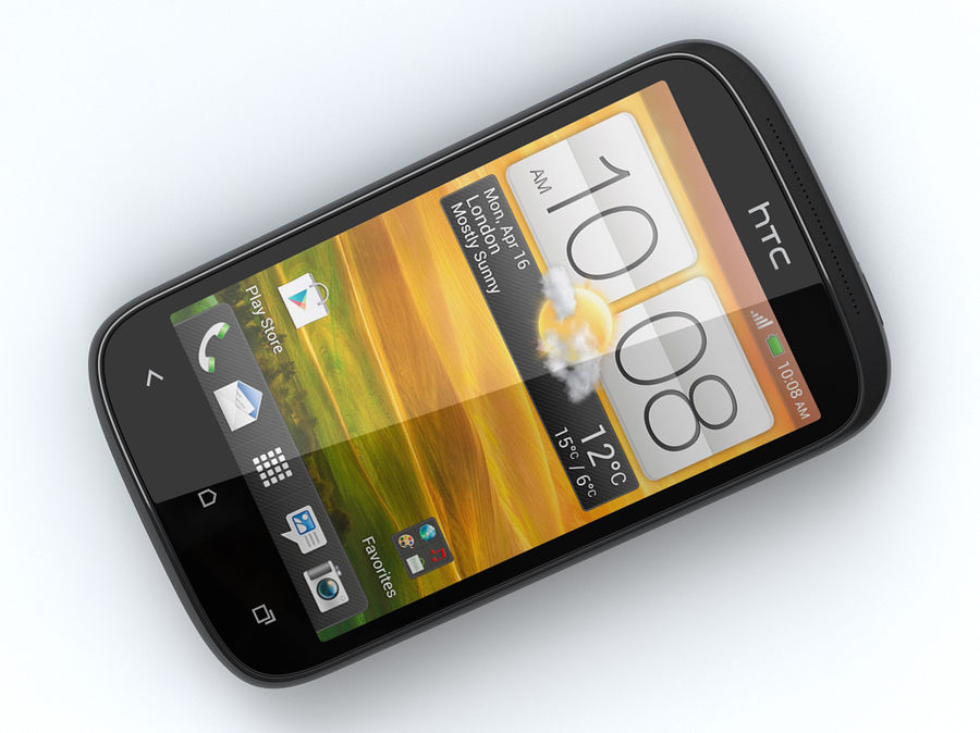 HTC Desire C royalty-free 3d model - Preview no. 13