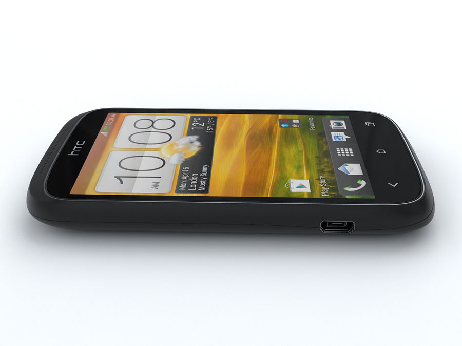 HTC Desire C royalty-free 3d model - Preview no. 8