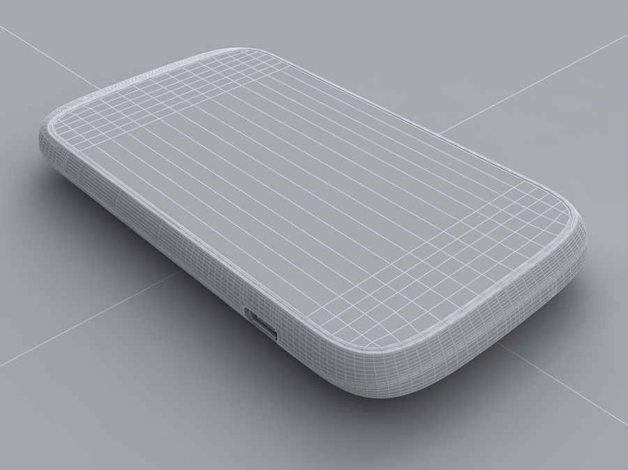 HTC Desire C royalty-free 3d model - Preview no. 29