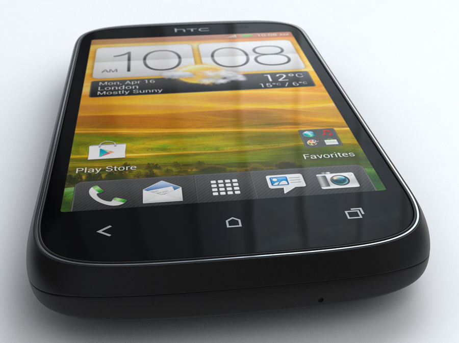HTC Desire C royalty-free 3d model - Preview no. 6