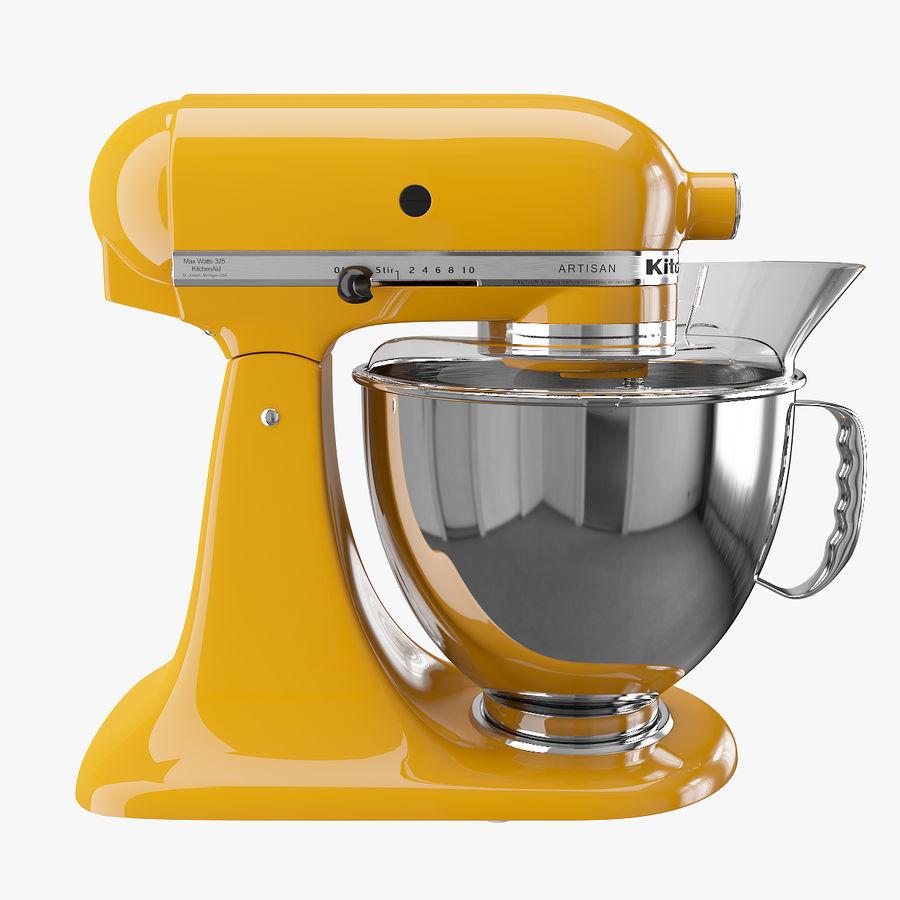 Mixer Kitchenaid Artisan 3d Model 19 Unknown Obj Fbx Max Free3d