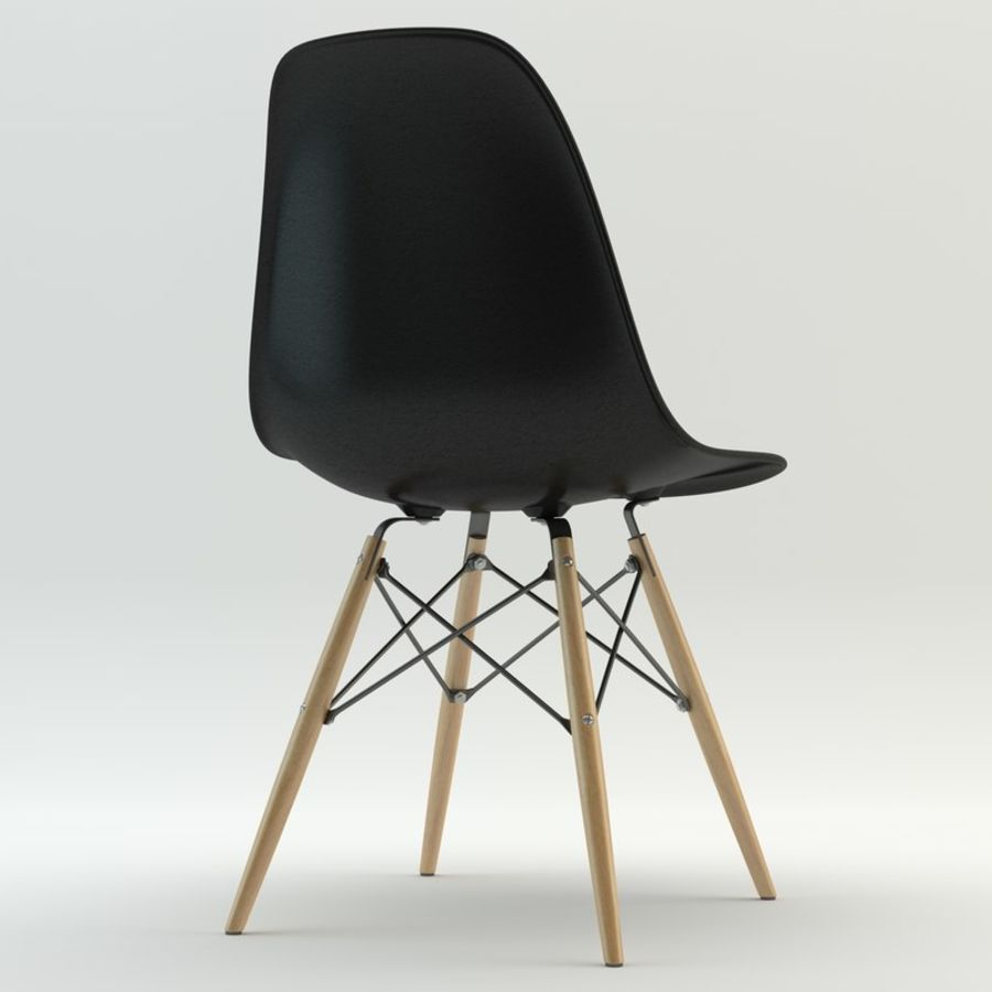 DSW Chair royalty-free 3d model - Preview no. 2