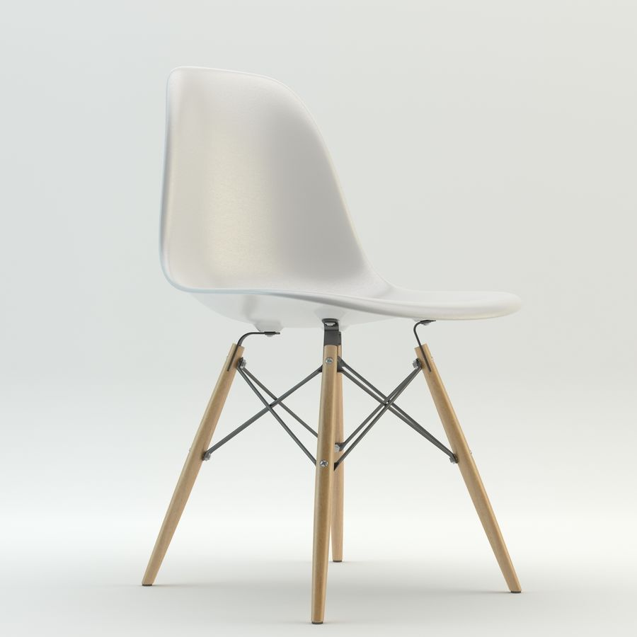 DSW Chair royalty-free 3d model - Preview no. 1