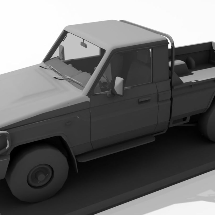 Auto terenowe royalty-free 3d model - Preview no. 6