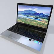 Notebook Samsung NP300-SO3IT 3d model