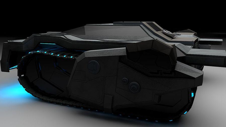 坦克运输 royalty-free 3d model - Preview no. 3