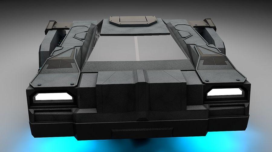 坦克运输 royalty-free 3d model - Preview no. 4