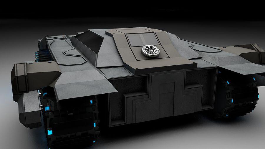 坦克运输 royalty-free 3d model - Preview no. 1