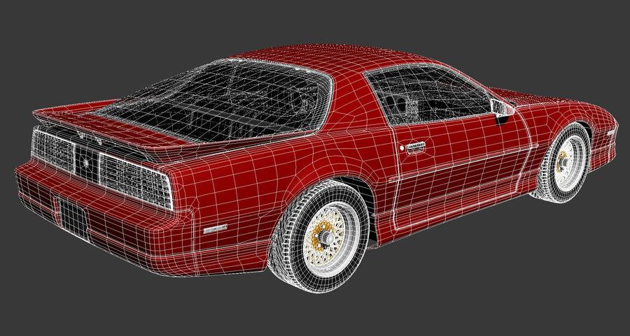 폰티악 파이어 버드 트랜스 오전 1988-1990 royalty-free 3d model - Preview no. 16