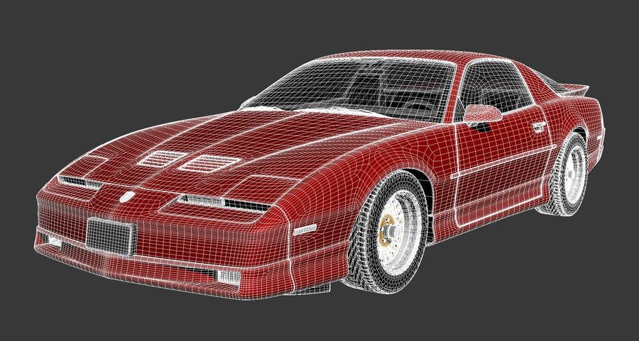 폰티악 파이어 버드 트랜스 오전 1988-1990 royalty-free 3d model - Preview no. 14