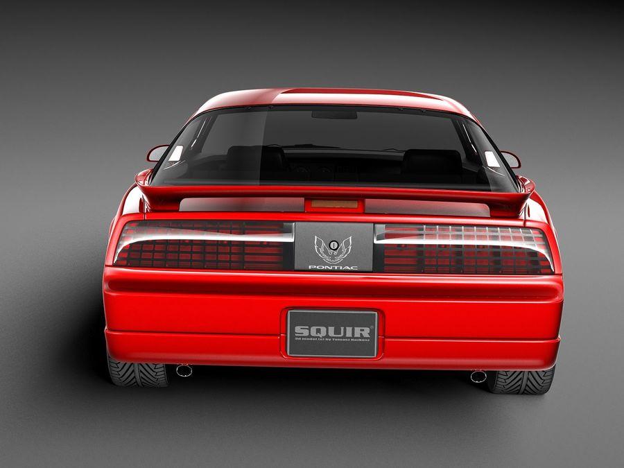 폰티악 파이어 버드 트랜스 오전 1988-1990 royalty-free 3d model - Preview no. 9