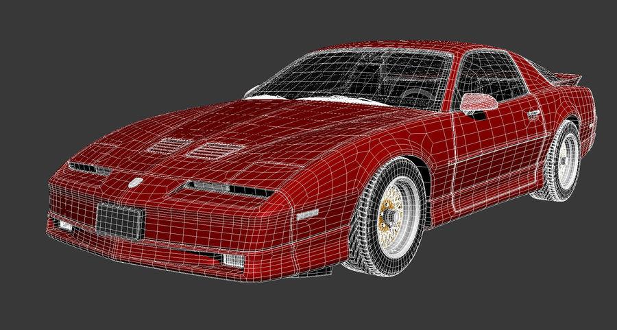 폰티악 파이어 버드 트랜스 오전 1988-1990 royalty-free 3d model - Preview no. 13
