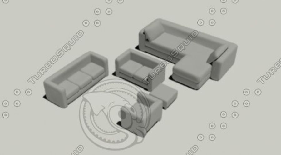Банка royalty-free 3d model - Preview no. 4