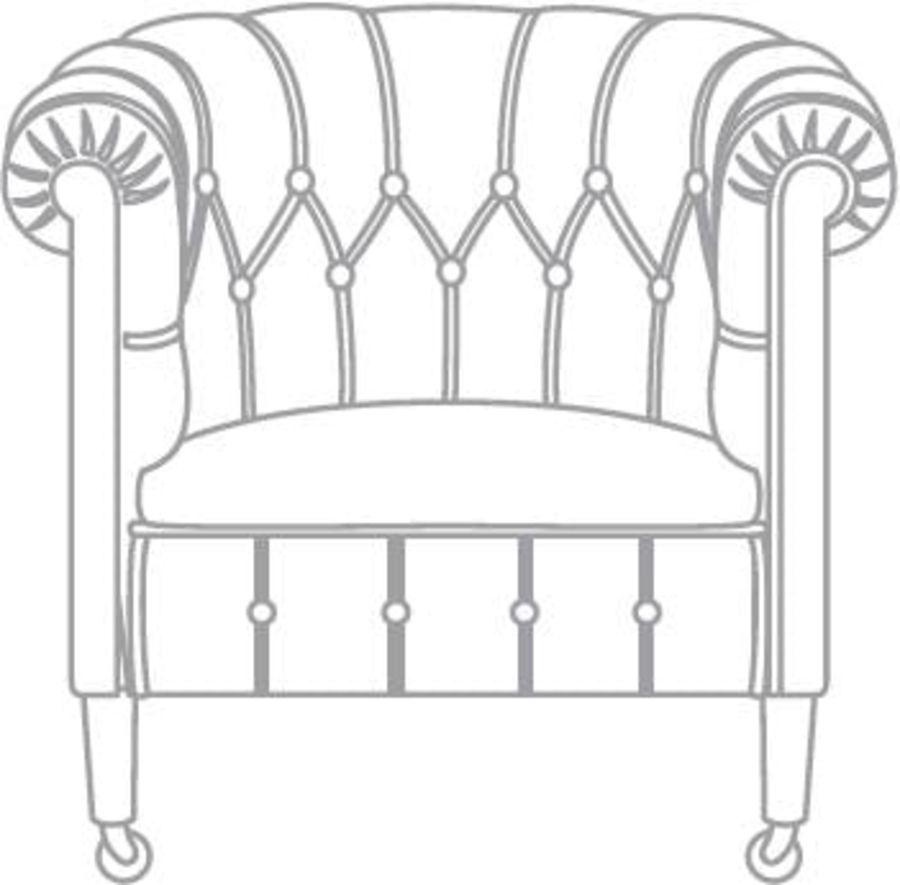 Chester Stuhl Klassiker royalty-free 3d model - Preview no. 4