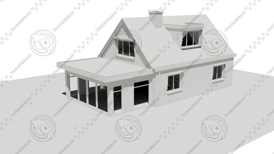 Голландский Дом royalty-free 3d model - Preview no. 2