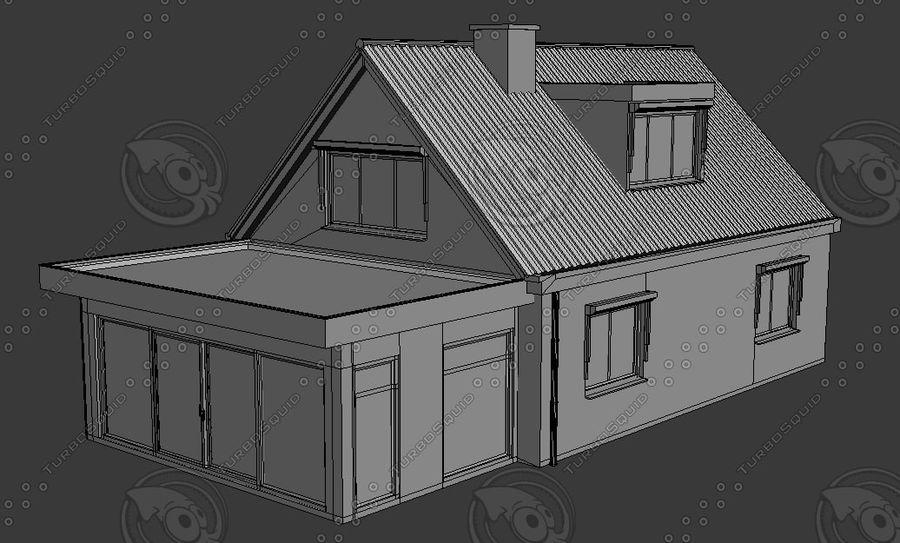 Голландский Дом royalty-free 3d model - Preview no. 4