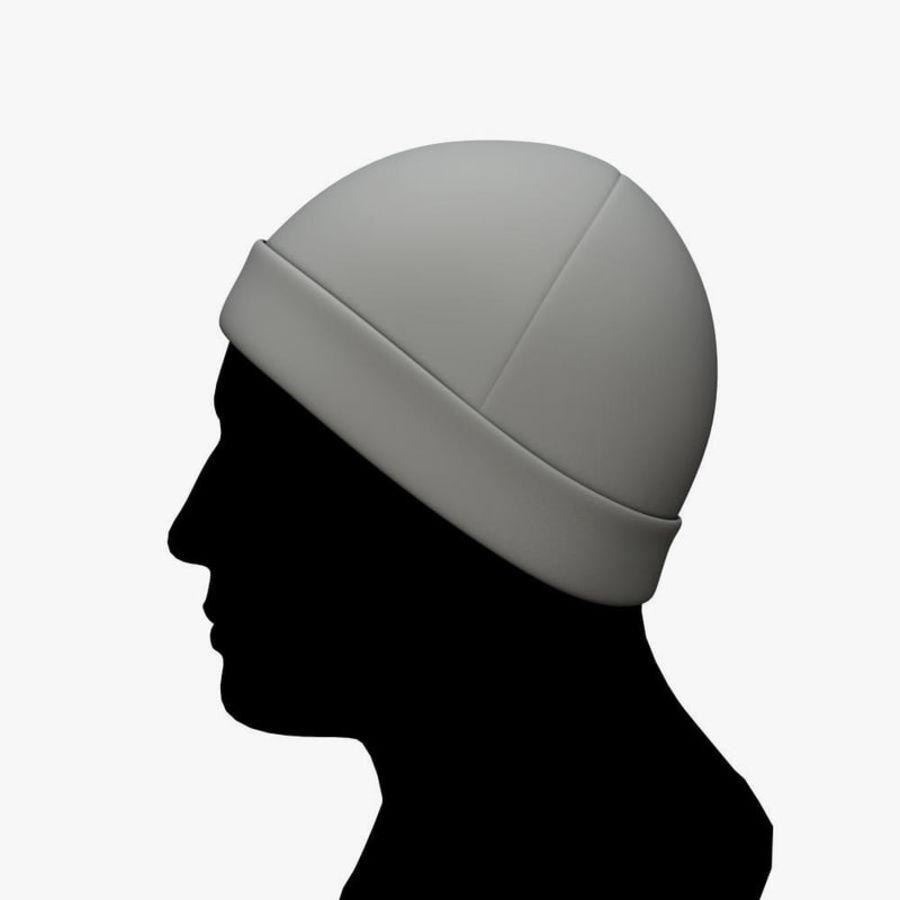 Skull Cap royalty-free 3d model - Preview no. 2