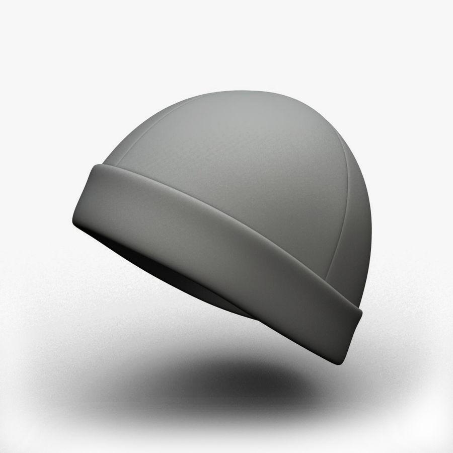 Skull Cap royalty-free 3d model - Preview no. 1