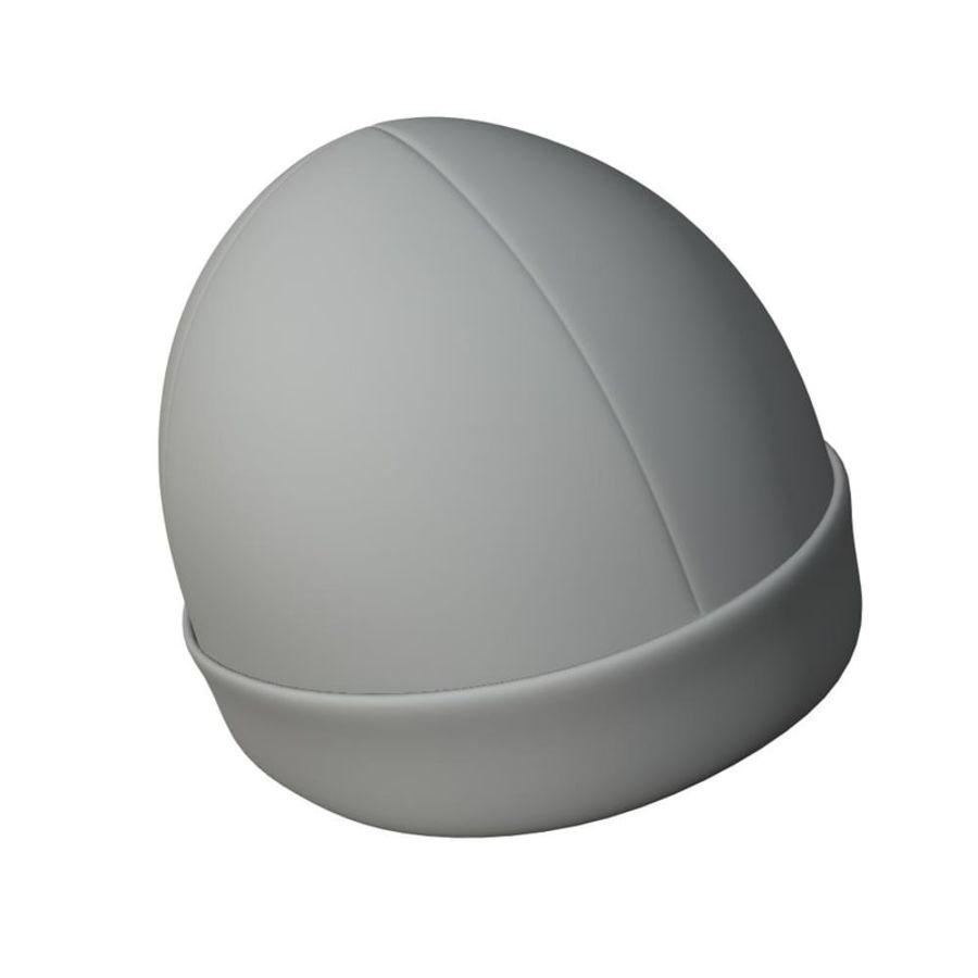 Skull Cap royalty-free 3d model - Preview no. 4