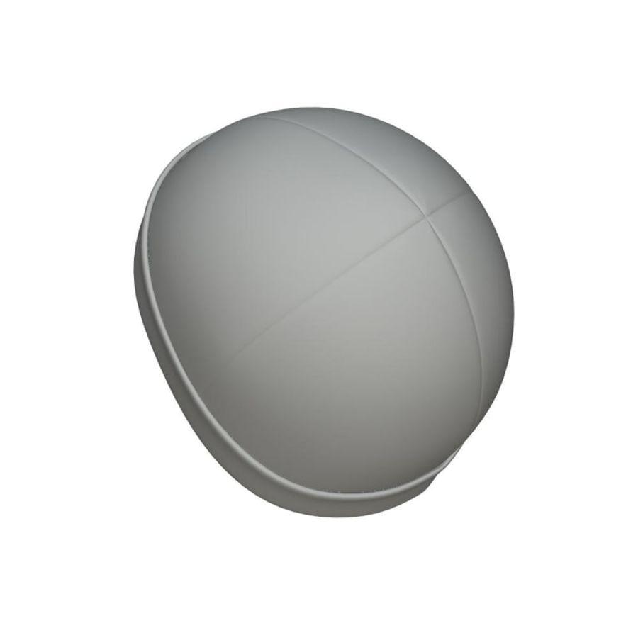 Skull Cap royalty-free 3d model - Preview no. 6