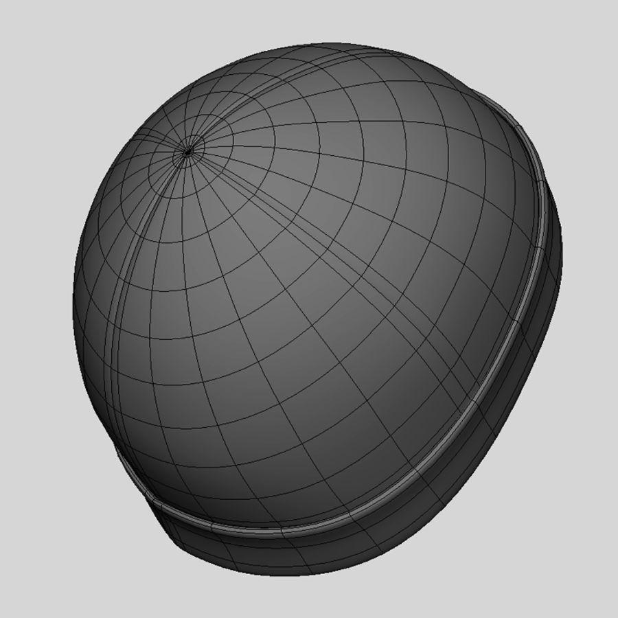 Skull Cap royalty-free 3d model - Preview no. 10