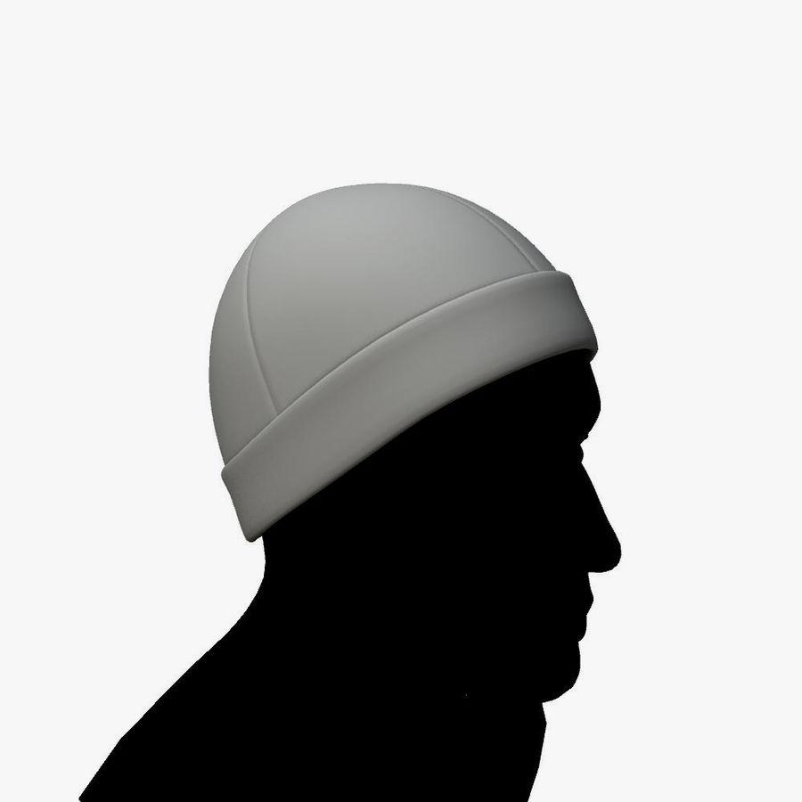 Skull Cap royalty-free 3d model - Preview no. 5