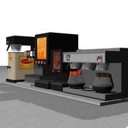 Estación de bebidas / bebidas modelo 3d