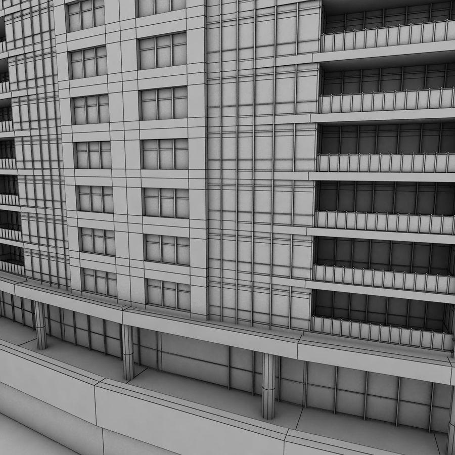 高层建筑 royalty-free 3d model - Preview no. 10