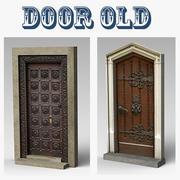 Дверь Старая 3d model