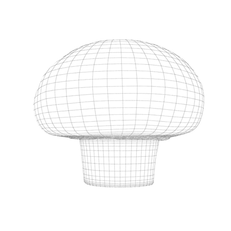Champignon royalty-free 3d model - Preview no. 9