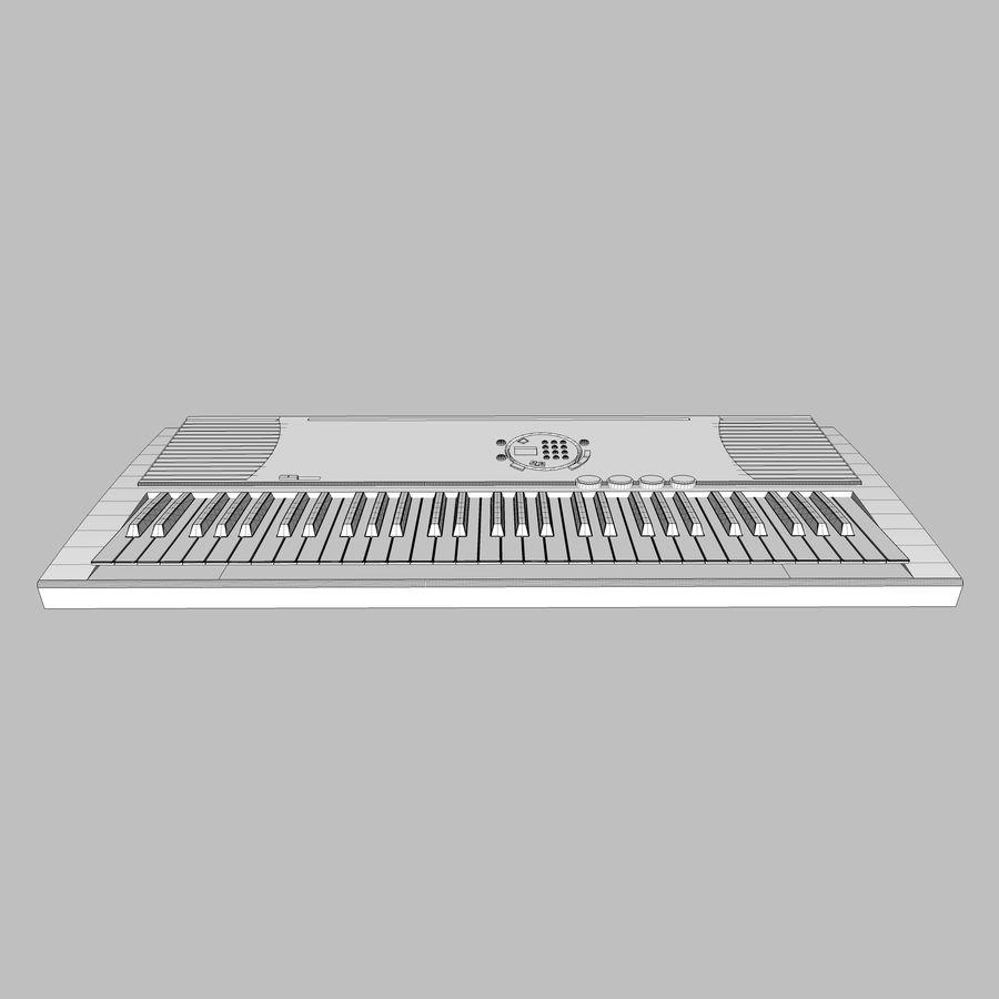 Keyboard: Yamaha PSR-180 royalty-free 3d model - Preview no. 14