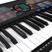 Keyboard: Yamaha PSR-180 3d model