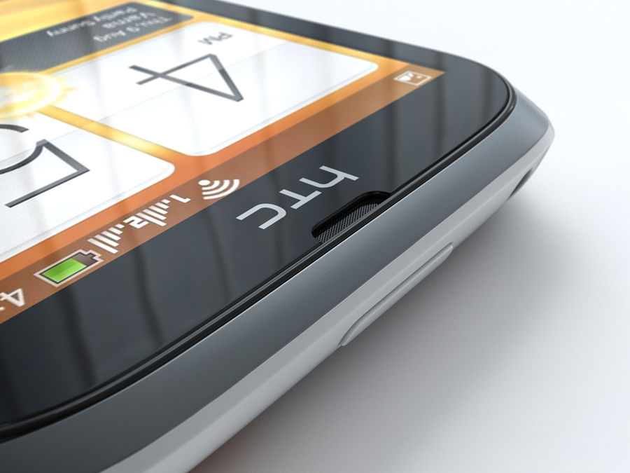 HTC Desire V royalty-free 3d model - Preview no. 19