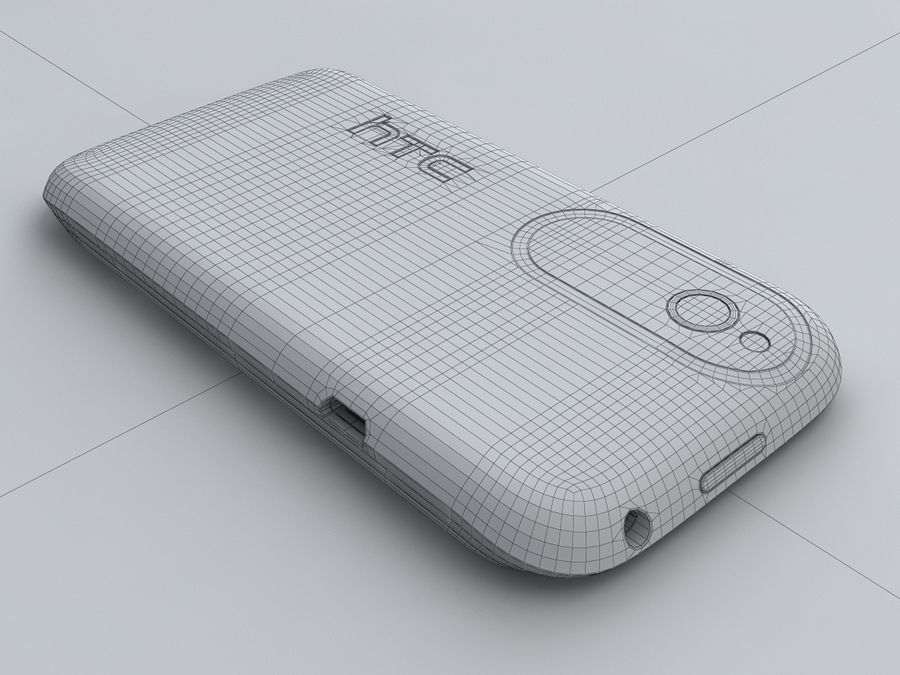 HTC Desire V royalty-free 3d model - Preview no. 24