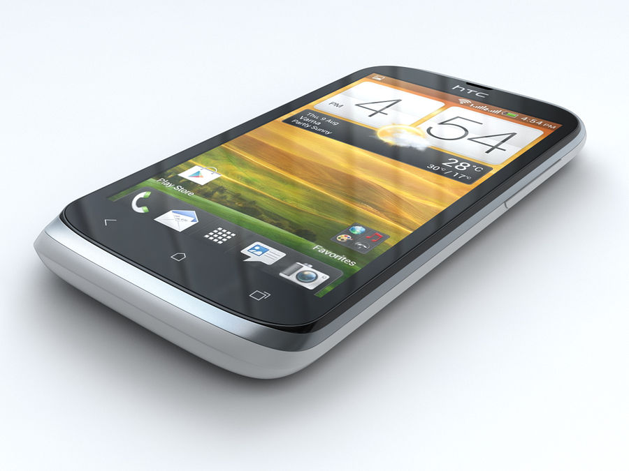 HTC Desire V royalty-free 3d model - Preview no. 6
