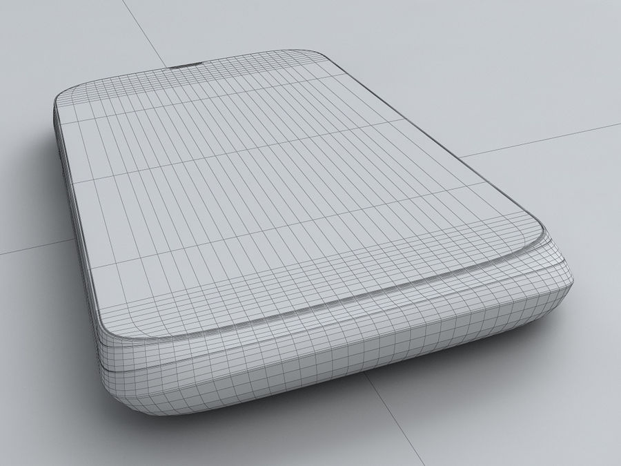 HTC Desire V royalty-free 3d model - Preview no. 25
