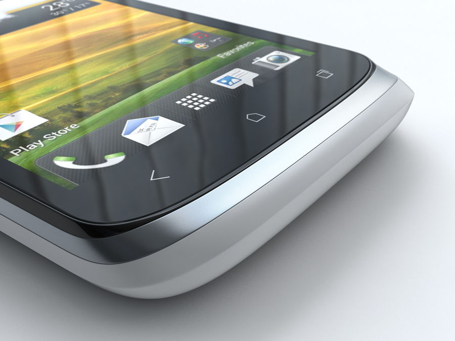 HTC Desire V royalty-free 3d model - Preview no. 18