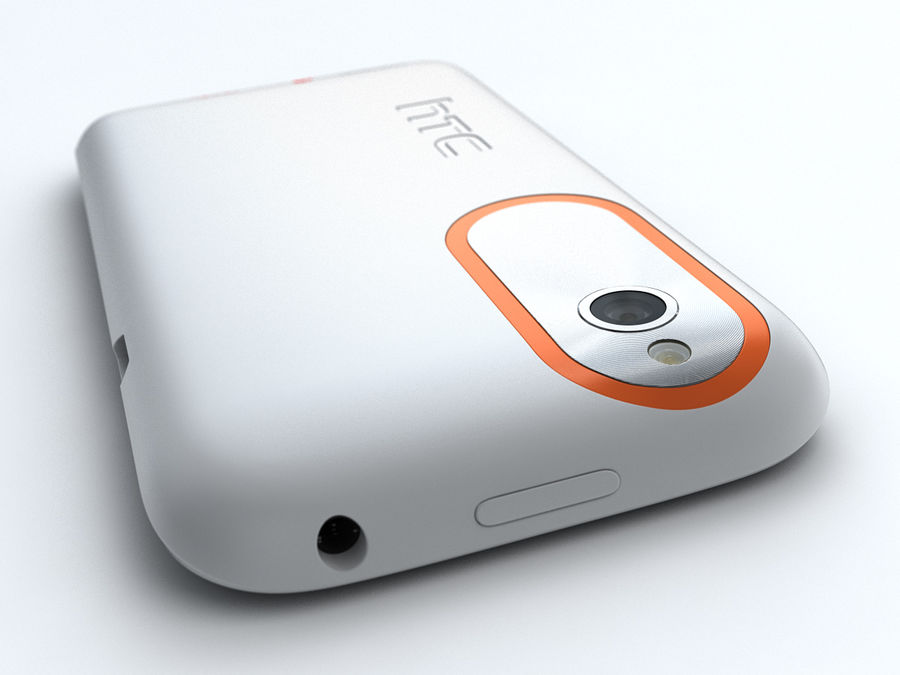 HTC Desire V royalty-free 3d model - Preview no. 10