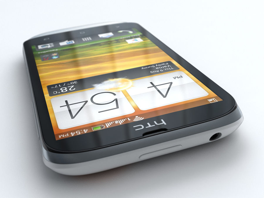 HTC Desire V royalty-free 3d model - Preview no. 9