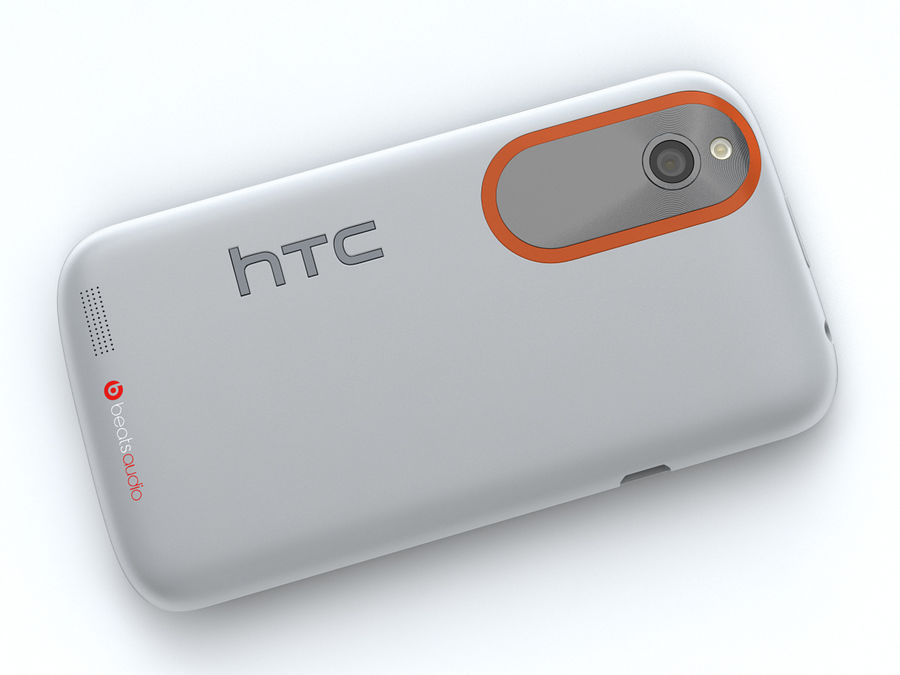 HTC Desire V royalty-free 3d model - Preview no. 17