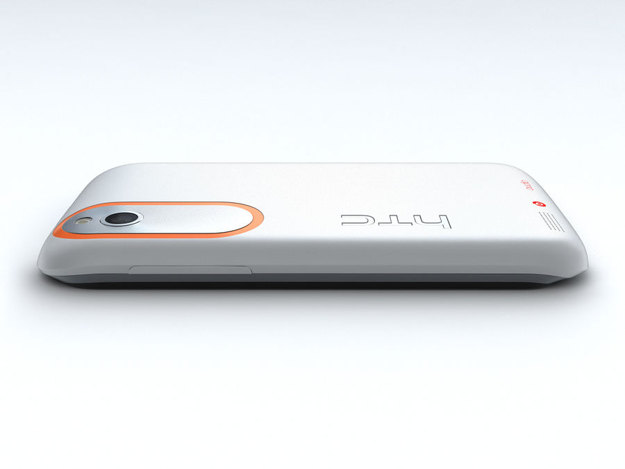 HTC Desire V royalty-free 3d model - Preview no. 14